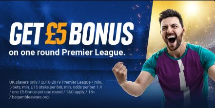 Premier League Free Bet